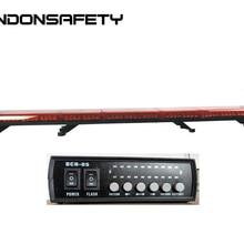 Длина 1844 мм 72 дюйма! ECE R65 одобренный светодиодный световой бар янтарный или синий предупреждающий бар 128 шт. светодиодный s DC12V или 24 В