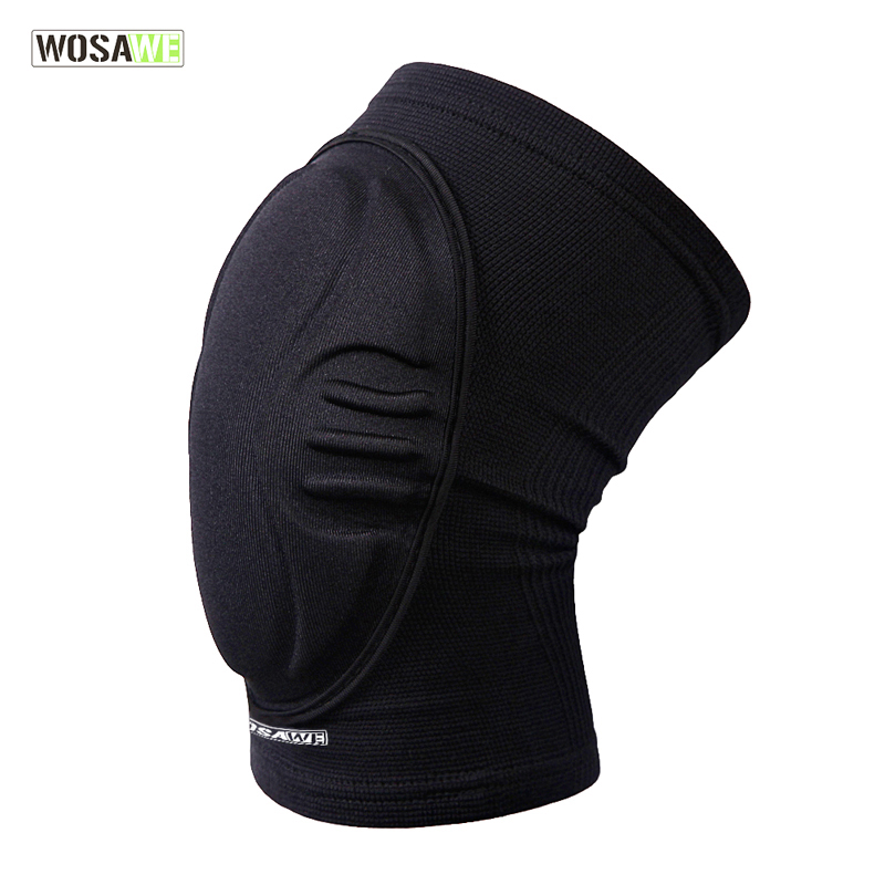 WOSAWE 1 piece EVA Knee Pad Dancing Skiing Soccer Basketball Extreme Sports kneepad Guards Brace Support Cycling Knee Protector