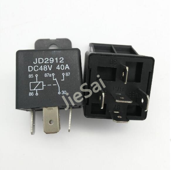 1 Set 4pin  5pin 40a Dc12v Automotive Relay Auto Relay With