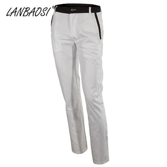 Европейский Стильная Мода Slim Fit мужская Белое Платье Брюки Прямые Деловых Партия Брюки Pantalon Homme Большой и Высокий