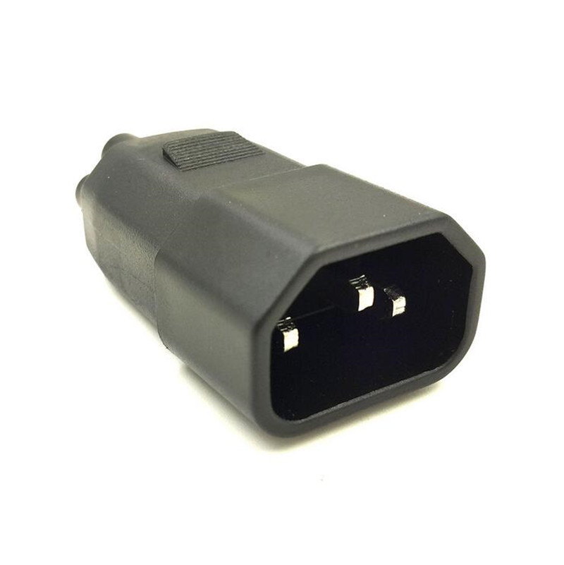 Lbsc 3 G Plug Adapter Iec 320 C14 Pin Male To C5 Female Receptacle Laptop Printer Adatper Connector Converter In Electrical From