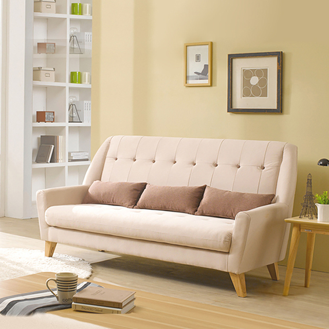 Japanese and Korean small apartment sofa minimalist Nordic American ...