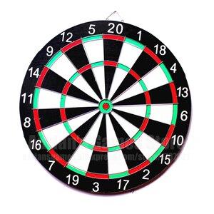 Image 2 - Zestaw 6 rzutek i rzutek 12/15/17 Cal rodzina/biuro gra tarcza do ćwiczeń sportowych gra w rzutki