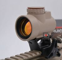 Holographic Reflex Sight Triji MRO Style Red Dot Shotgun Rifle Gun Scope Airsoft Hunting Optic With Low & Quick Detachable Mount