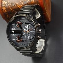 Часы мужчины кварцевые часы relogio masculino luxury военные наручные часы мода повседневная водонепроницаемый army sports