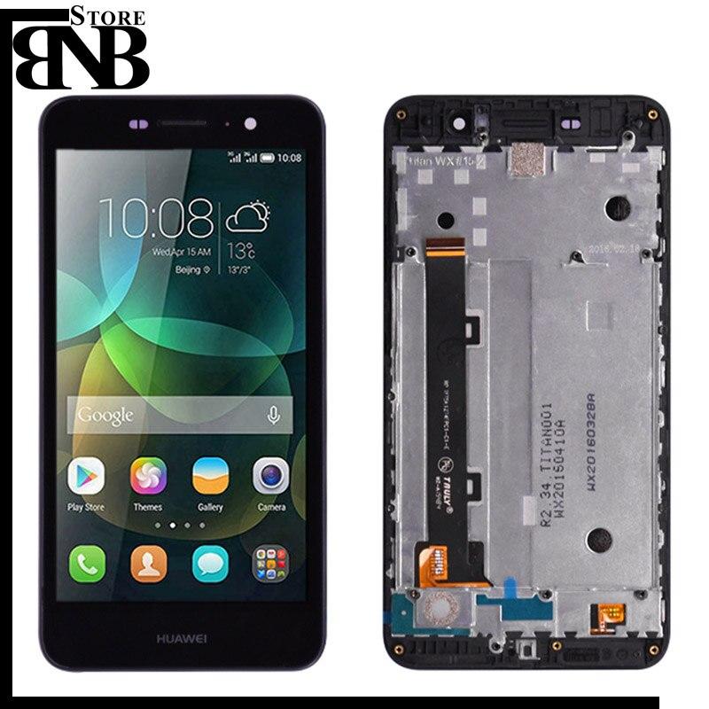 100% Original Für Huawei Honor 4C Pro TIT-L01 LCD Display Mit Touch Screen Digitizer Montage Mit rahmen Kostenloser Versand