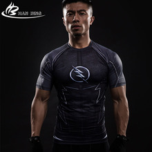 marvel 3D Printed T-shirts Men Compression Shirt Short Sleeve Flash Cosplay Costume Quick Dry Crossfit Clothing Tops Male Shirts