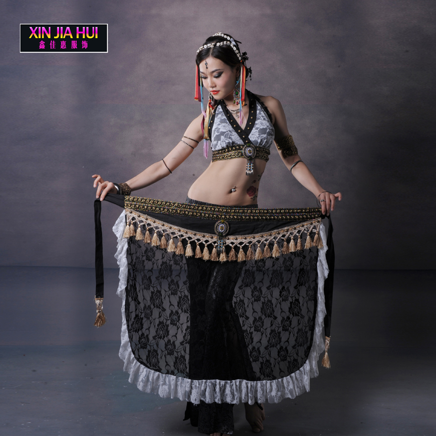 Luxury suite tribal costumes Elements Sets Exercise Clothing Dress Orientale Belly Dance ...