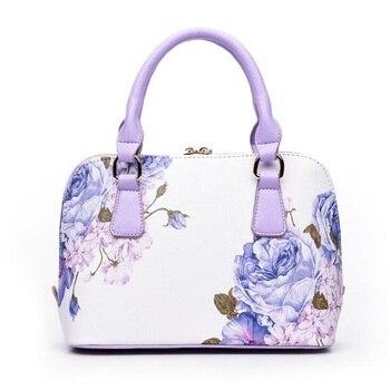 Famous Brands Designer Printed Luxury Leather Handbag 1