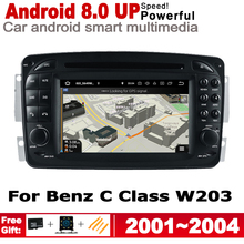 2 Din Car Multimedia Player For Mercedes Benz C Class W203 2001~2004 NTG Android Radio GPS Navigation Stereo Autoaudio Car DVD цена