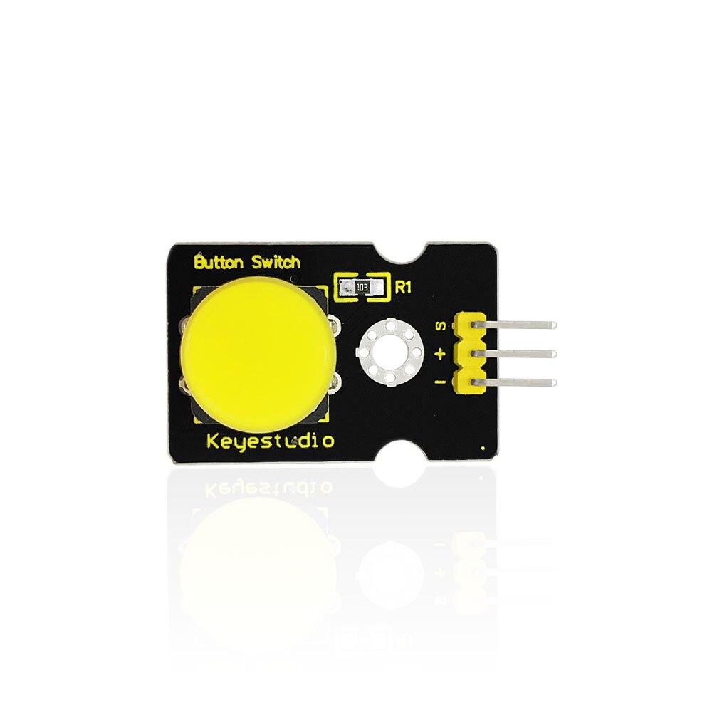 Free shipping Keyestudio Digital Push Button Switch Module for font b Arduino b font