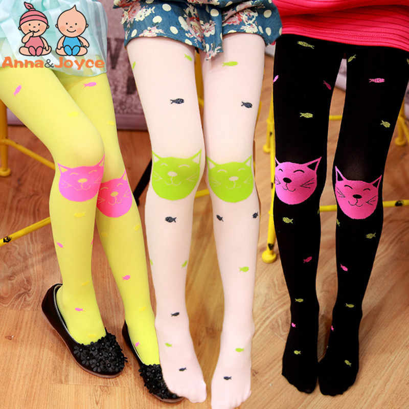 10 Pc Baby Stockings Girls Cartoon Pantyhose Cotton Candy Colored Rabbit Ears Dance Stockings Velvet Pantyhose for4-8year