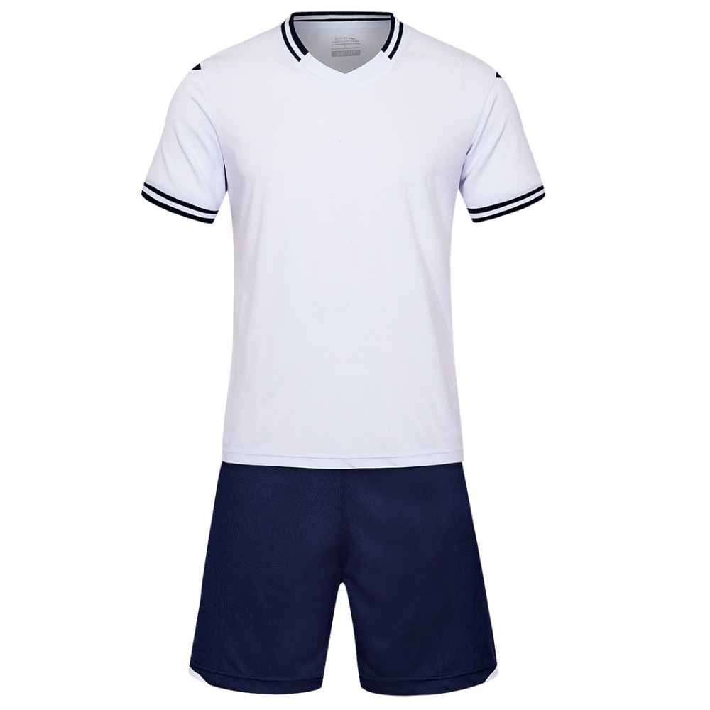 white Men short sleeve 2018 color size tracking Purple kits jersey adult soccer football suit 6189