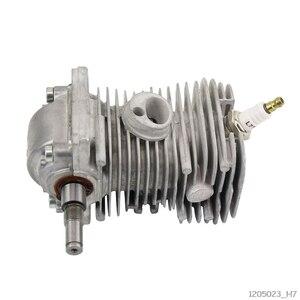 Image 4 - 38mm moteur moteur cylindre Piston vilebrequin Pan assemblage jardin outils électriques pièces pour MS170 MS180 018 tronçonneuse