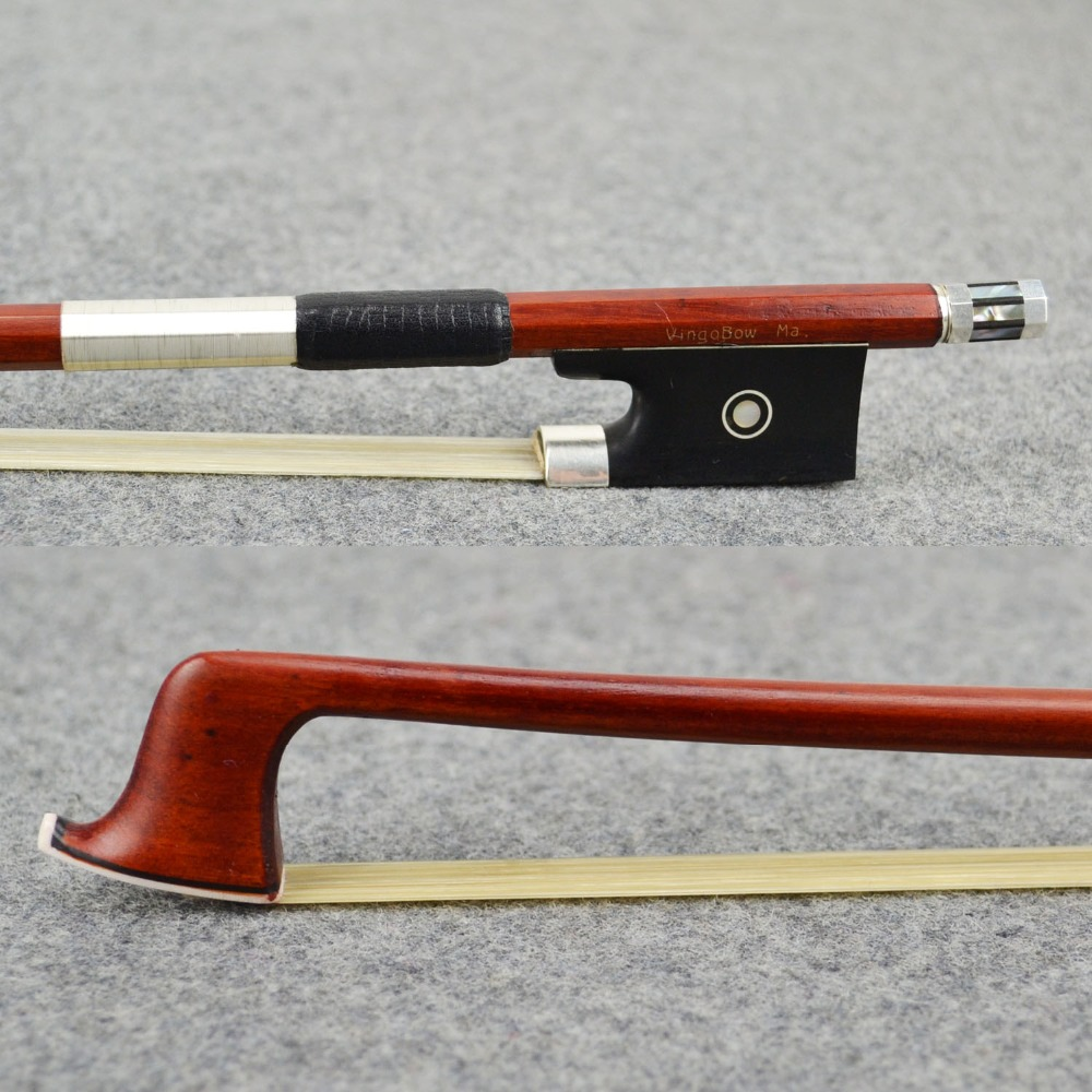 Maestro Level Pernambuco Violin Bow White Natural Mongolia Horsehair! Sweet and Warm Tone, Nice Violin Part, Violin Accessories