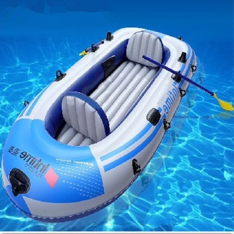 Creative Inflatable Four People Rubber Boats Can Match The Motor Thicken PVC Fishing Boat Twin-pipe Four-man Ship G958 ohs tamiya 24282 1 24 nismo skyline gtr r34 z tune car model building kits oh