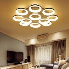Euignis 110 220v Modern Ceiling Light Luces Led Para Casas Plafonnier Lampen Lamparas Lampe En Cristal Lustr Lustres De Sala 46