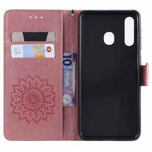 Embossing-Stand-Cover Sunflower Samsung Galaxy S10-Plus Business for M10 M20 A10 A20/A30/A40/..