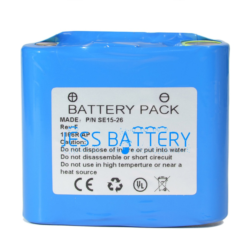 new battery for X-Rite 500,504,508,518,528,530 P/N SE15-26