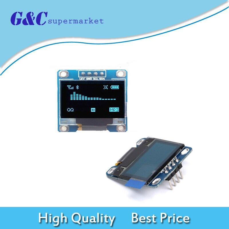 0.96 inch 128X64 OLED Display Module For arduino 0.96 IIC I2C Communicate white