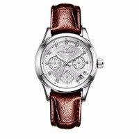 New Vogue Automatic Mechanical Watches Women Fashion Clock Relogio Feminino 2018