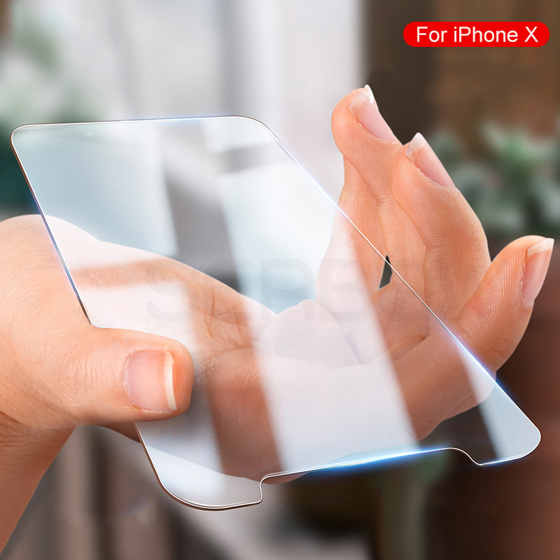 9H Tempered Glass on the For iPhone XS Max XR X 5s 5 SE Tough Protection Screen Protector Film For iPhone 8 7 6 6S Plus Glass
