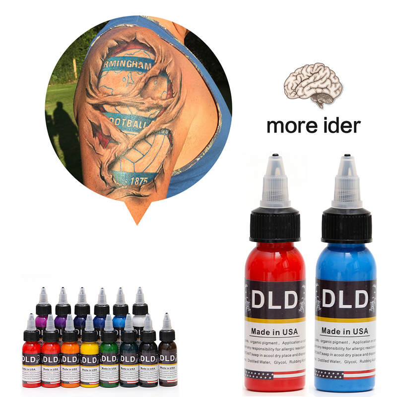 High Quality Professional Tattoo Pigment Colors Set Makeup Permanent Tattoo Ink Paint Kit 14 Colors Micro Pigment(30ML)High Quality Professional Tattoo Pigment Colors Set Makeup Permanent Tattoo Ink Paint Kit 14 Colors Micro Pigment(30ML)