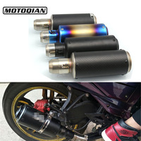 Universal Motorcycle 51mm Exhaust Pipe Muffler Escape Modified For Honda CB 599 919 CB600 HORNET CBR 600 F2 F3 F4 F4i 900RR