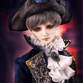 Bjd аксессуары Оригинальный AS 1/3 bjd 70 см + мужской старинные ретро граф костюм высокое качество куклы as одежда куклы костюм косплей