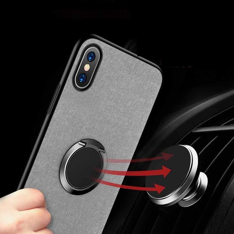 رقيقة جدا البنصر حامل ل آيفون X 8 7 Plus 6s XS XR جبل حامل حامل الهاتف المحمول إصبع اللوحي ل شاومي سامسونج s9
