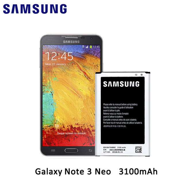 100 original samsung new battery for samsung galaxy note 3 neo n750 rh aliexpress com Samsung Galaxy Note 1 Samsung Galaxy Note 3