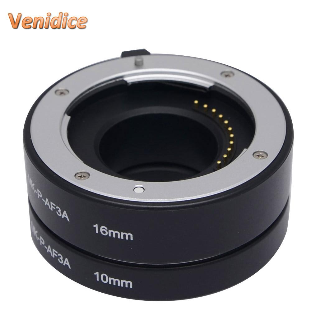 Prix pour Meike P-AF3-A Métal Autofocus AF Automatique Macro Extension Tube pour Panasonic et Olympus Micro 4/3 Système Caméra