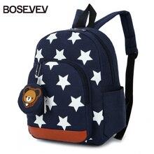 BOSEVEV Children Bags for Boys Kindergarten Nylon Children School Bags Printing Baby Girl School Backpack Cute Children Backpack