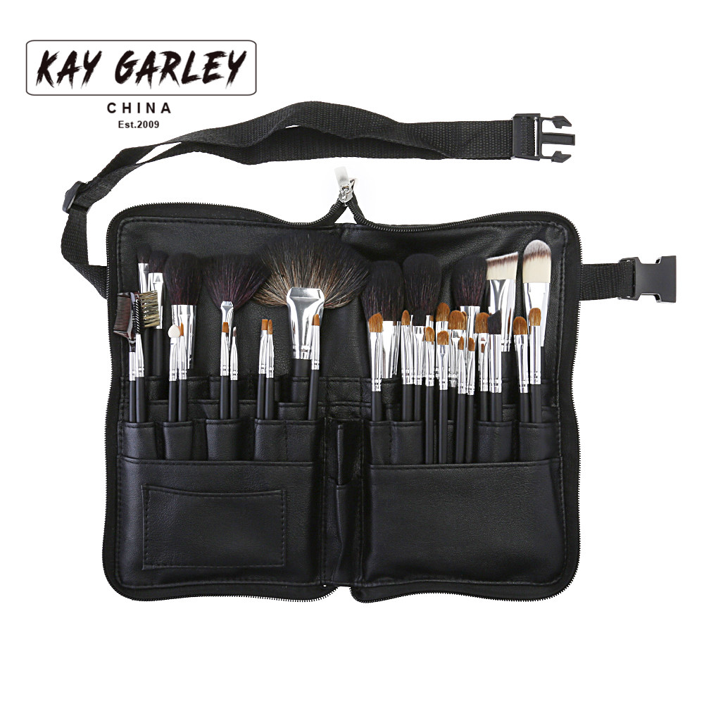 KAY GARLEY 32pcs Artist Professional Makeup Brush Set High Quality Powder BB Cream Brush Set Face Eye Lip Makeup Brush Tool Kits focallure 3pcs pro face makeup daily using foundation cream loose powder with high quality makeup brush
