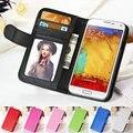 Роскошный Кожаный Чехол Для Samsung Galaxy Note 3 lll N9000 с Подставкой Фоторамка Телефон Сумка Крышка Коке Для Samsung Note 3
