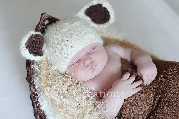 Cappellini Uncinetto Neonato