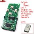 HKOBDII 4 кнопки смарт пульт дистанционного управления доска 312 МГц для Toyota 2005-2010 (JP) чип 71 (271451-5290)
