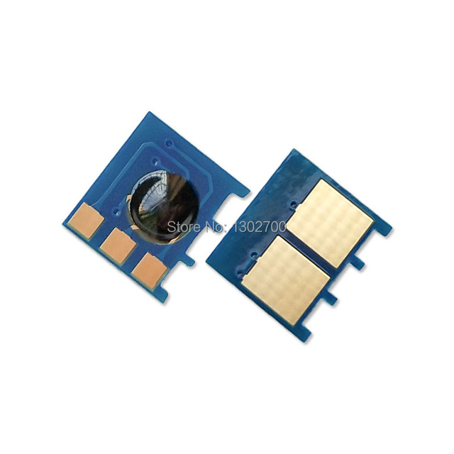 Puce de cartouche de Toner CF300 A CF301 CF302 CF303 302 pour imprimante couleur HP LaserJet M 880 880z M880z M880z NFC recharge de poudre réinitialiser