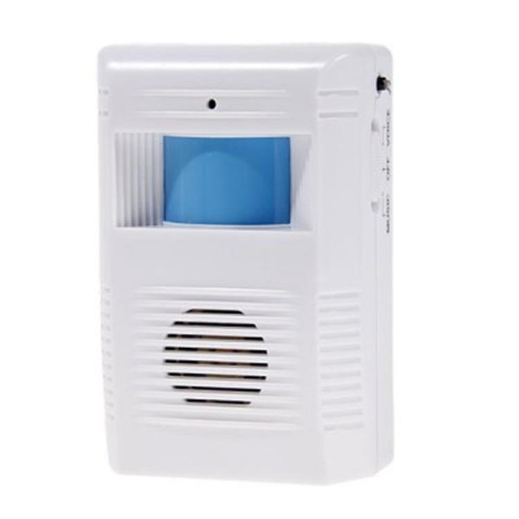PIR Door Bell Infrared Sensor Wireless Doorbell Welcom Chime Bell Guide Doorbell Alarm For Store Home Shop Warehouse Security