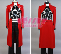 Japanese anime Fate Stay Night archer cosplay costumes for male and female uniform
