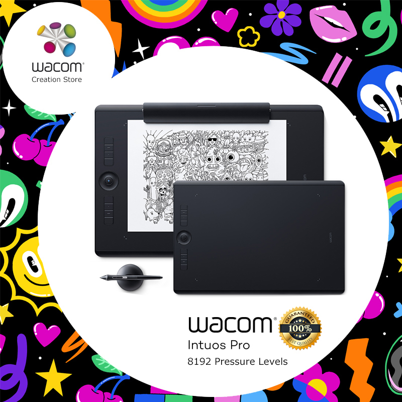 Wacom Intuos Pro Digital Graphic Drawing Tablet for Mac or PC, Large, (PTH-860) NEW MODEL 8192 Pressure Levels Price $599.87