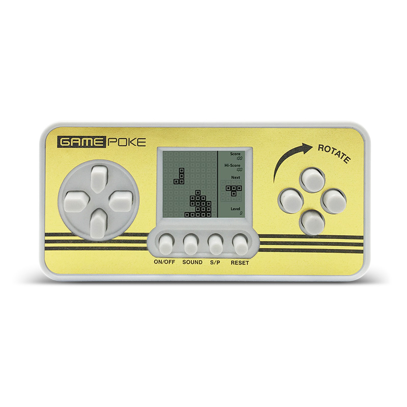 Electronic Handheld Games Children Classical Game Players Portable Kids Tetris Gaming Console Built-in 23 Games Tetris toys