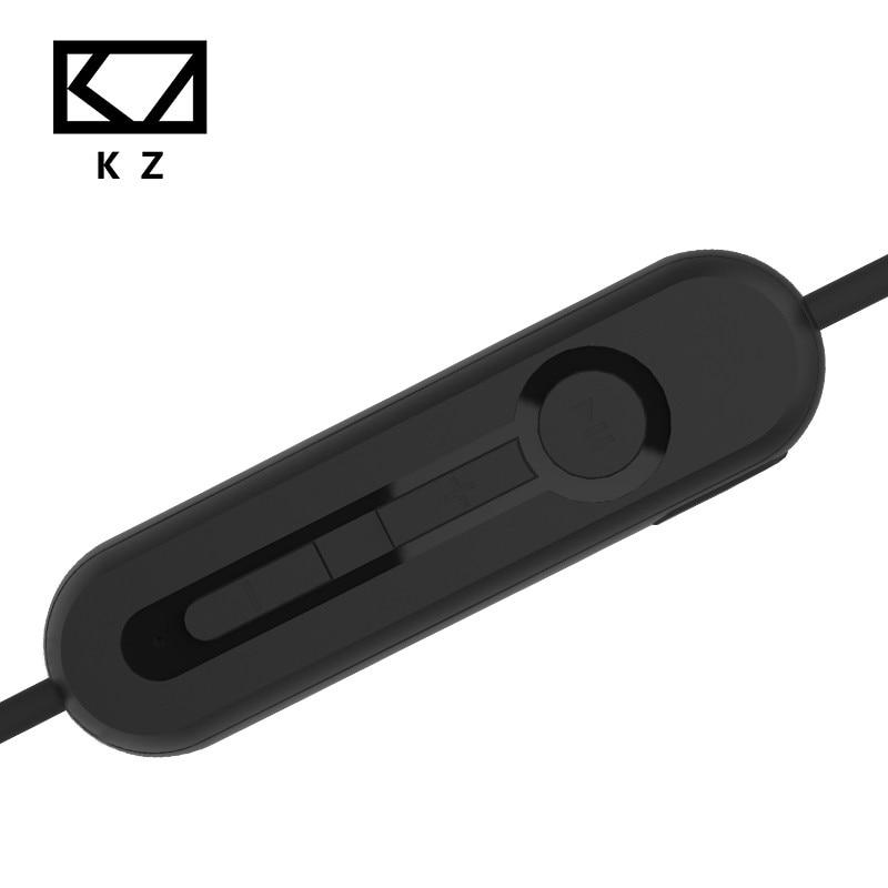 Оригинальные наушники KZ ZS5 ZS6 ZS3 ZST ED12 ES3, Bluetooth 4,2, обновленный кабель, 2 контакта, 0,75 мм, Hi-Fi наушники, выделенный сменный кабель