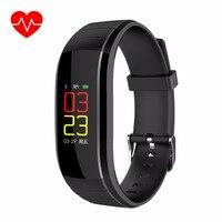 Vwar Smart Bracelet Bluetooth Smartwatch Sport Fitness Tracker Heart Rate Monitor Blood Pressure Wristwatch VS Xio
