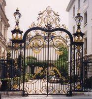 Aluminium Gates Driveway Gates Wrought Iron Gates Forged Iron Gates Hench 14
