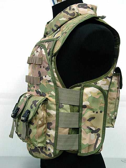 Swat التكتيكي التمويه العسكرية الجيش الادسنس الألوان القتالي الاعتداء الصدرية bk/de/متعددة حدبة