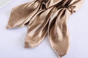 Image 5 - Đầm Ngủ Lụa Nắp Màu Trơn Nhiều Màu 100% Lụa Đêm Nắp Đêm Bọc Đầu Dành Cho Chăm Sóc Tóc Thun Sjm 02