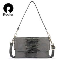 REALER women shoulder bag luxury handbags women bags designe