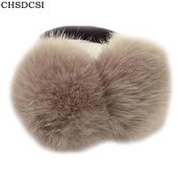 CHSDCSI 2017 Lovely Rabbit Fur Winter Unisex Earmuffs Ear Cache Oreilles Warmers Comfortable Earmuffs Warm Solid
