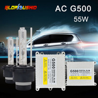 12V 55W D2S Xenon Hid Kit D2S D2C 4300k 5000k 6000k 8000k Super Slim Digital Ballast